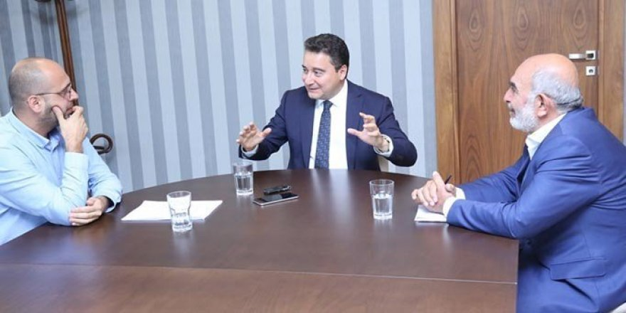 """Ali Babacan: """"Yıl Bitmeden Partiyi Kuruyoruz"""""""