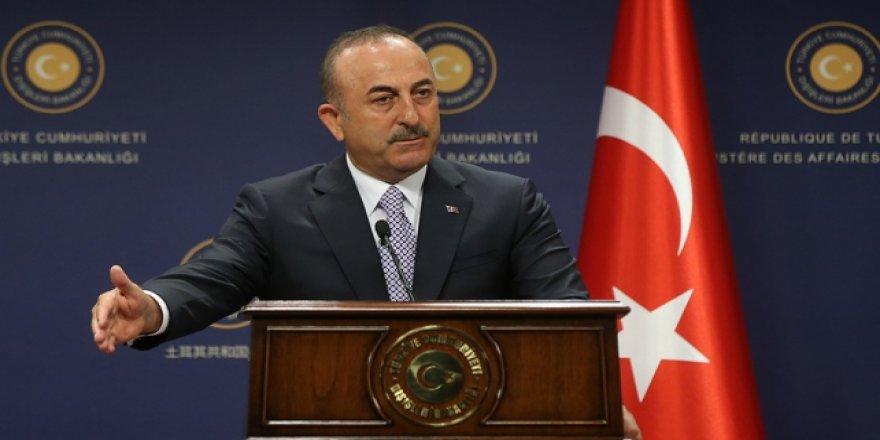 Çavuşoğlu: ABD'nin Attığı Adımlar Kozmetik, Türkiye'nin Planı Hazır