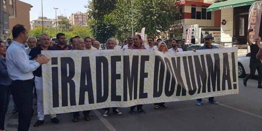 Diyarbakır'da Kayyım Protestoları 23'üncü Gününde