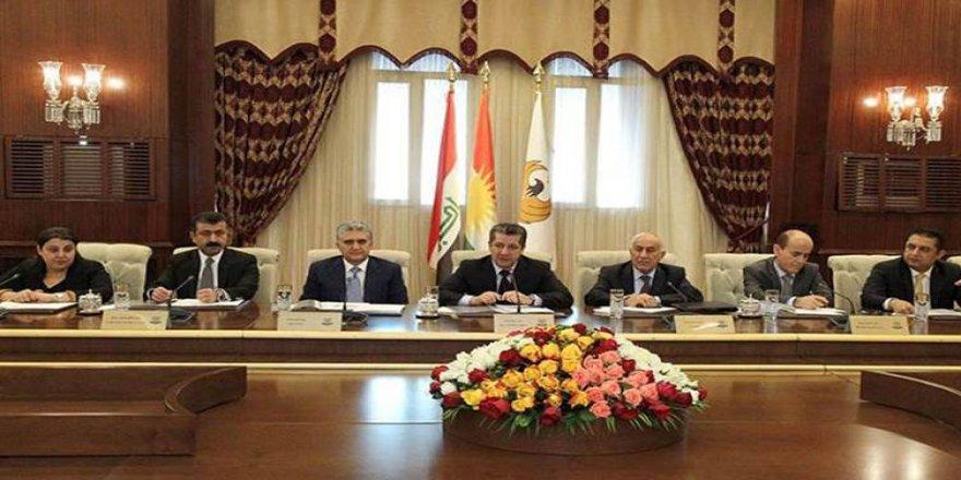 Kürdistan Hükümet Kabinesinde Alınan Kararlar Açıklandı
