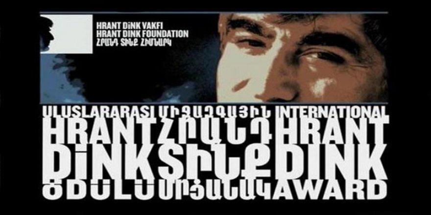 Uluslararası Hrant Dink ödülleri Kharshiing ve Akkoç'a verildi