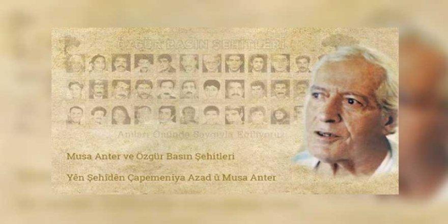 Musa Anter Gazetecilik Ödülleri sahiplerini buldu