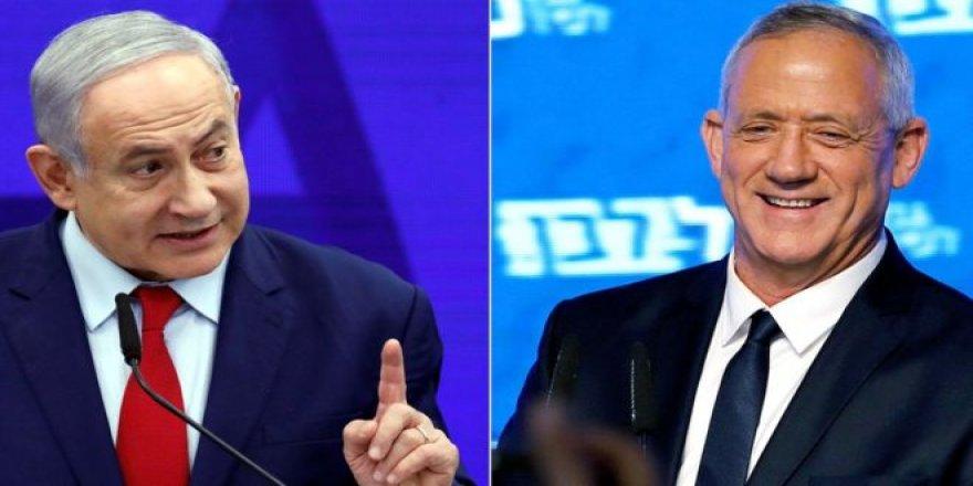 Netanyahu, rakibine büyük koalisyon ve dönüşümlü Başbakanlık önerdi