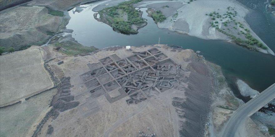 3 bin 600 yıllık Urartulara ait yerleşim yeri bulundu