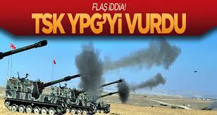 TSK YPG'yi Vurdu
