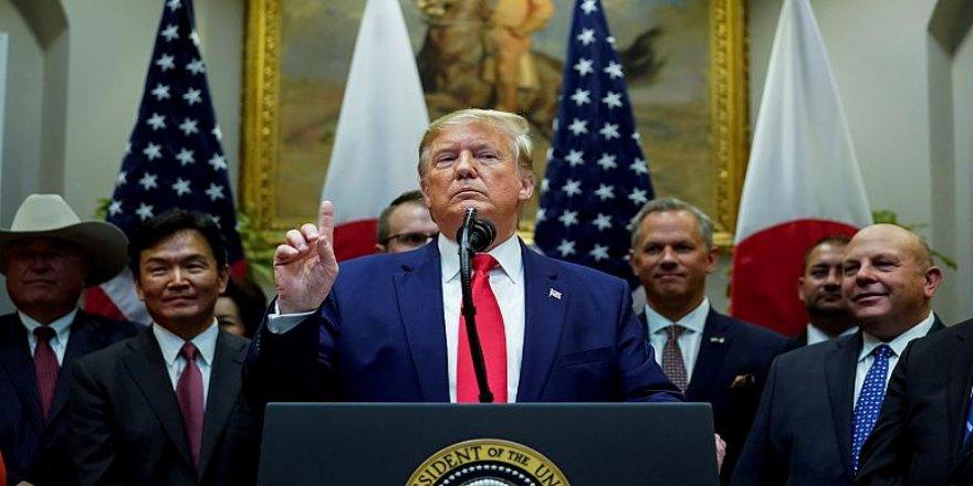 Trump: Suriye'de kimsenin tarafını tutmuyorum