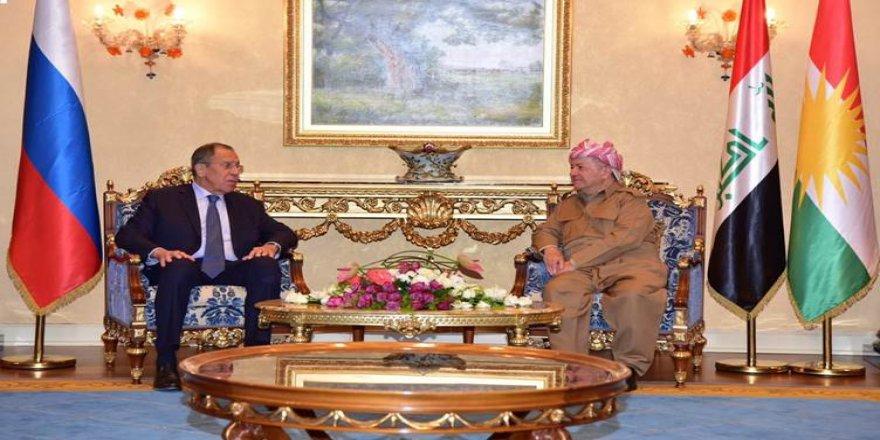 Başkan Mesud Barzani'den Rusya'ya Rojava talebi