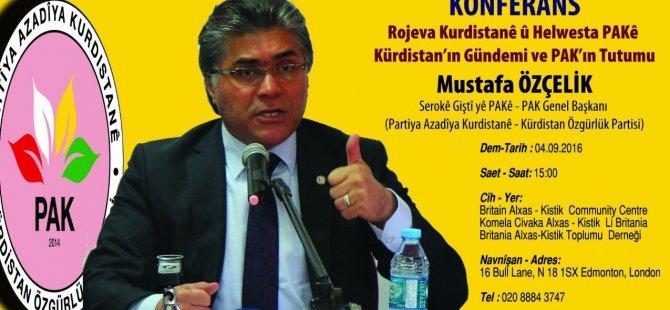 Kürdistan'ın gündemi ve PAK'ın tutumu