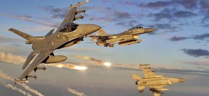 Reuters: İki Türk jeti YPG ve IŞİD hedeflerini vurdu