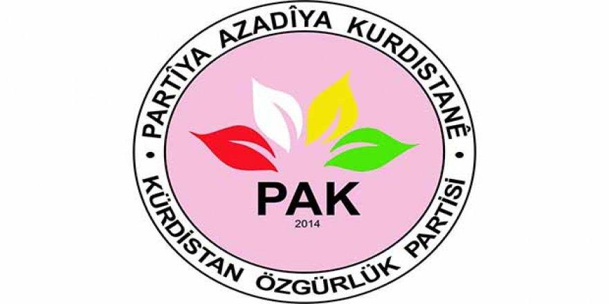 PAK: Türkiye Devleti 'nin Amacı Soykırım ve İşgaldir