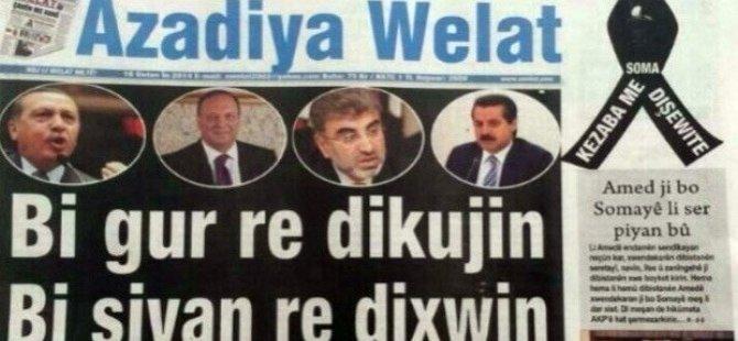 Azadiya Welat Gazetesi bürosuna polis baskını