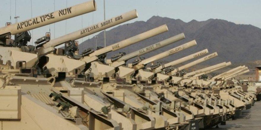Kanada da Türkiye'ye silah satışını askıya aldı