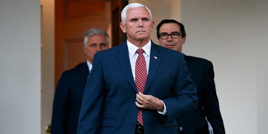 ABD Başkan Yardımcısı Pence Türkiye'ye geliyor