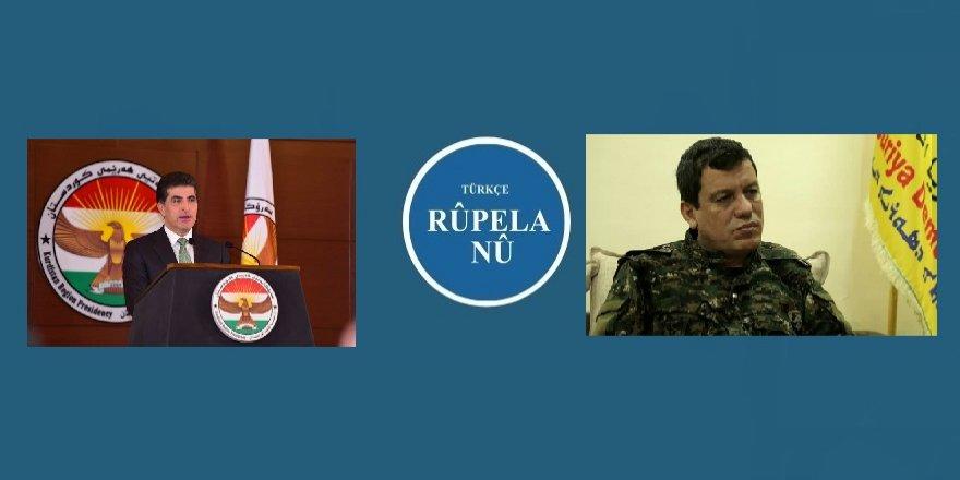 Barzani: Kürtler artık birlik olmalı, Abdi: Birlikte karar verelim