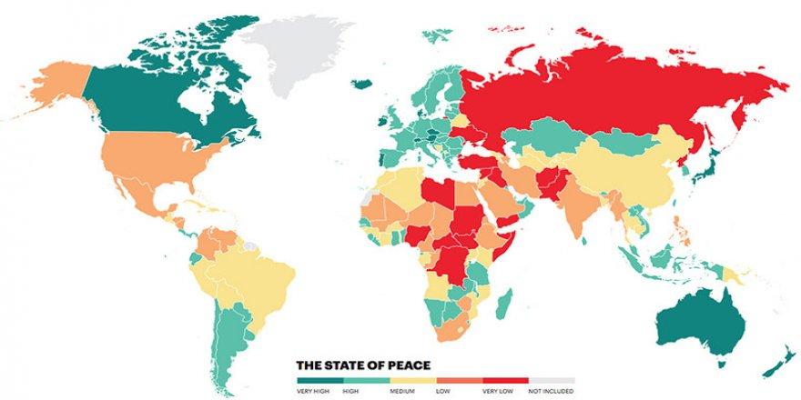 Dünyanın en tehlikeli 10 ülkesi