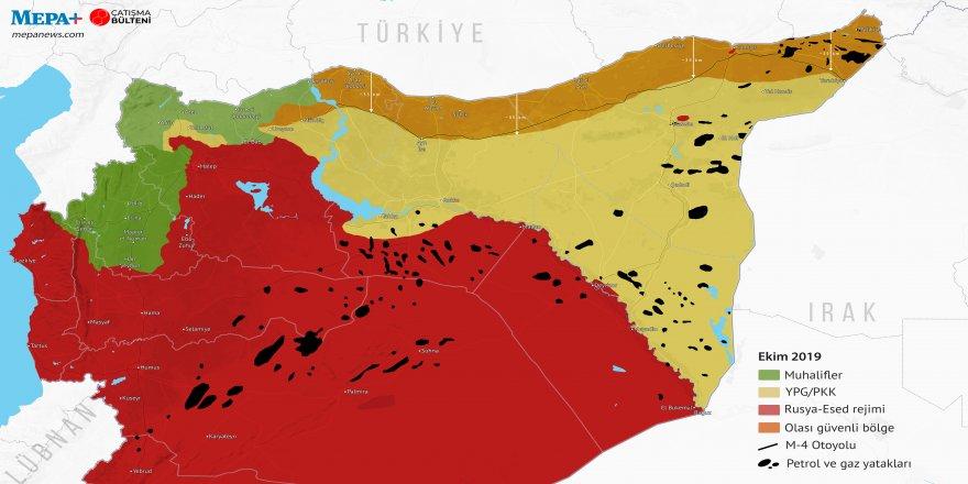 Trump plana parastina hemû kêlgehên petrolê li rojhılatê Sûrîyê pesend kir