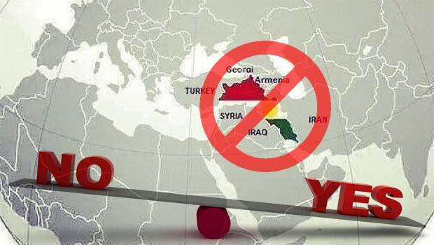 28 Devlet Bağımsız Kürdistan'ı tanımayacak...