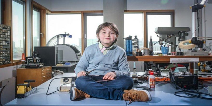 9 yaşında elektrik mühendisi olacak