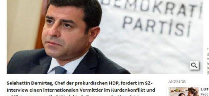 """Demirtaş: """"Biz PKK şiddetini kabul etmiyoruz"""""""