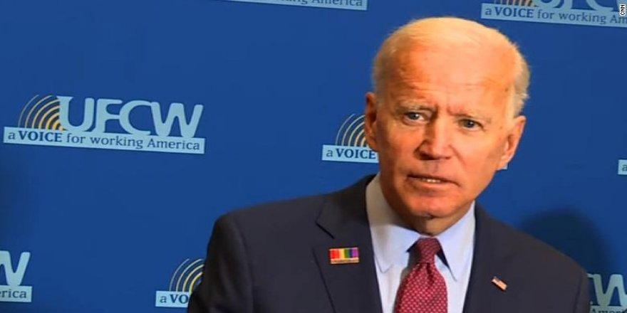 Joe Biden: Trump'tan, Erdoğan'a Kürtleri etnik olarak temizleme izni