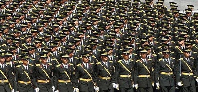 TSK'da 150 general, 10 bin subay ve 12 bin astsubay örgüt üyesi!