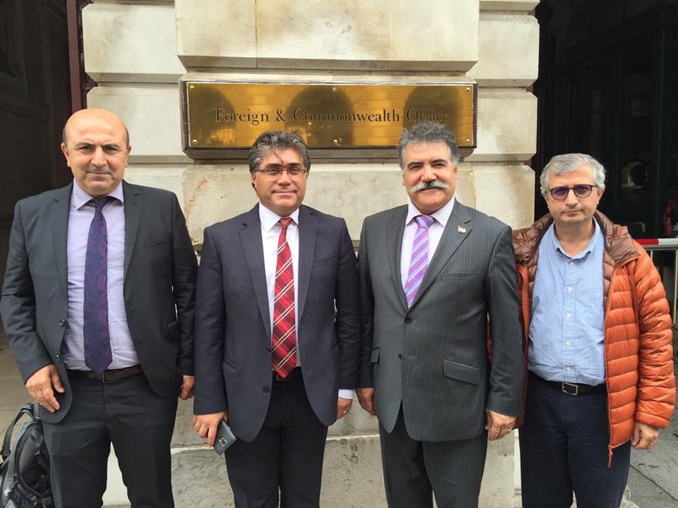 PAK Genel Başkanı Londra'da İngiltere Dışişleri Bakanlığı İle Görüştü