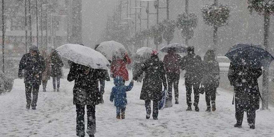 6 Kürt kentinde yoğun kar yağışı bekleniyor
