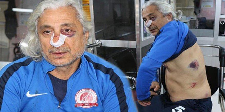 Batman Petrolspor teknik direktörü ve futbolcularına saldırı