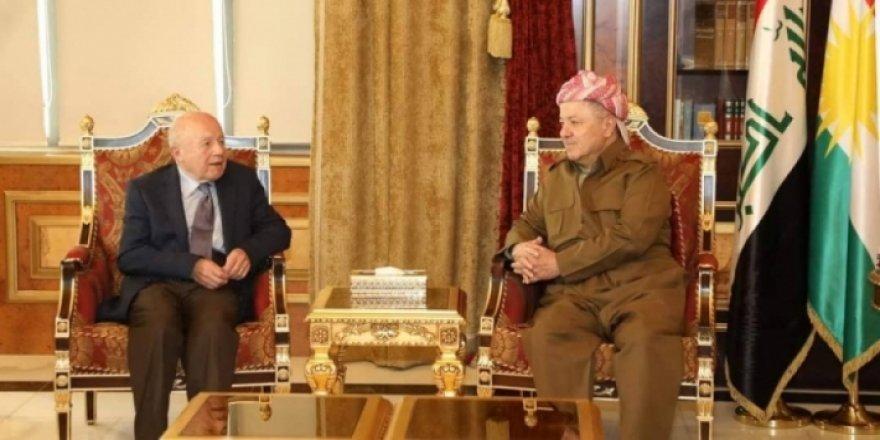 Başkan Barzani, Kürt dostu İsmail Beşikçi'yi ağırladı