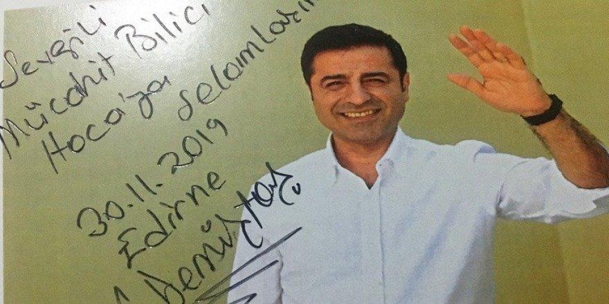Demirtaş'tan yazar Bilici'ye mektup