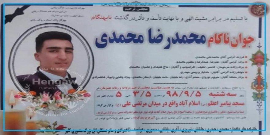 İran Kürt işçinin naaşını ailesine parayla sattı!