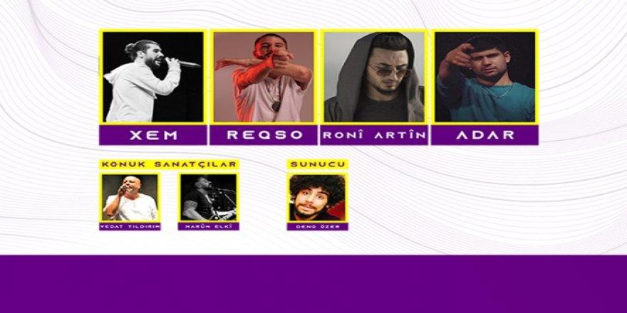 Kürt rap sanatçıları sahne alacak