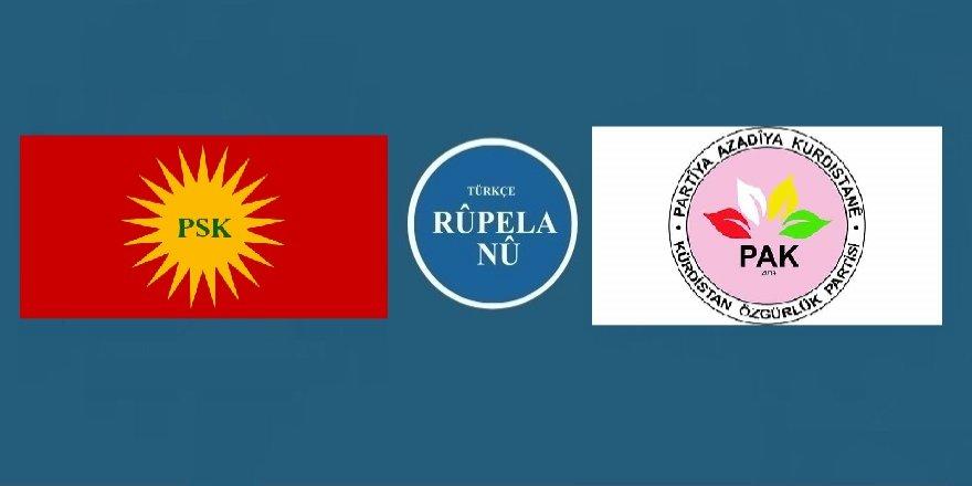 PSK ve PAK, HDPnin bazı ve parti ve harekelerle düzenleyeceği toplantıya katılmıyor