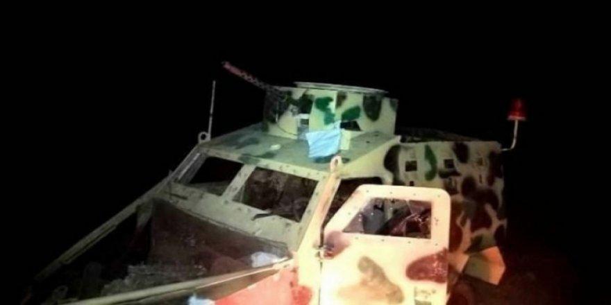 Cerablus'ta Türk askeri güçlerine karşı patlayıcı yüklü araç patlatıldı