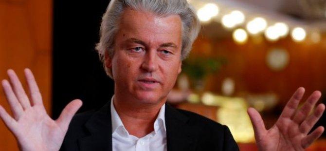 """Wilders: """"Askeri rejim, her halükarda Erdoğan'dan iyidir"""""""
