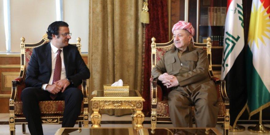 Başkan Mesud Barzani, Kuveyt Erbil Başkonsolosu ile bir araya geldi