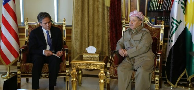 Barzani ABD heyeti ile görüştü