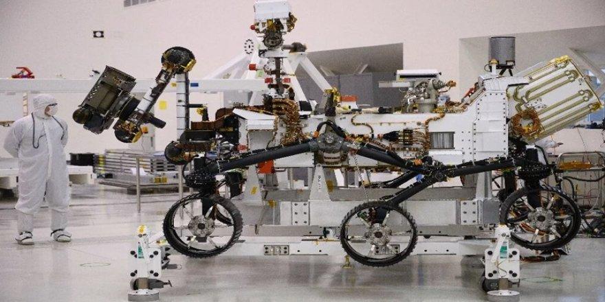 NASA'nın 2020'de Mars'a göndereceği uzay aracı tamamlandı