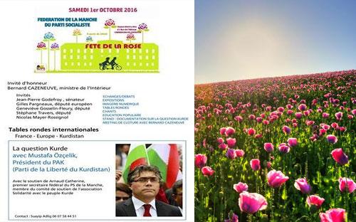 PAK Genel Başkanı Fransa'da ''Gül Bayramı''na katılacak