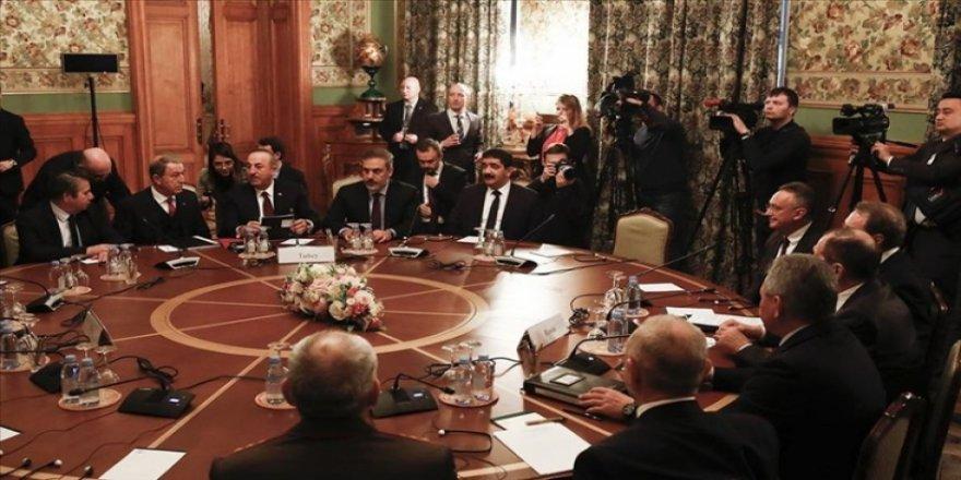 SANA: Suriye-Rusya-Türkiye temsilcileri Moskova'da toplantı yaptı