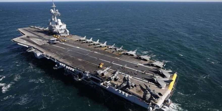 Fransa, bölgeye uçak gemisi gönderecek