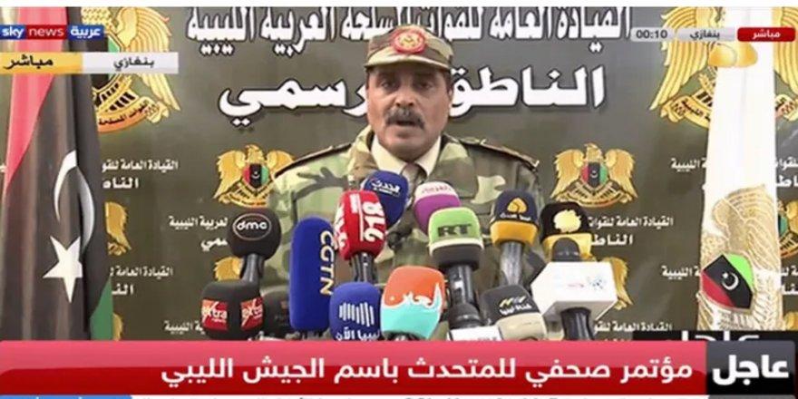 Ahmed el-Mismari: Trablus sahillerinde Türk askerlerinin sonu gelecek