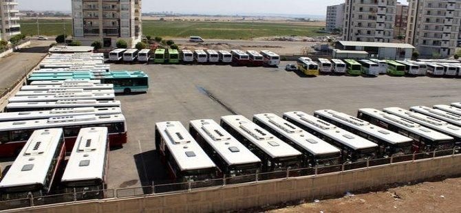 Diyarbakır'da kayyım protestosu; otobüs şoförleri kontak kapattı!