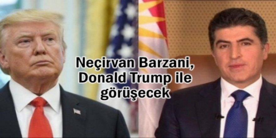 Neçirvan Barzani Trump ile görüşecek