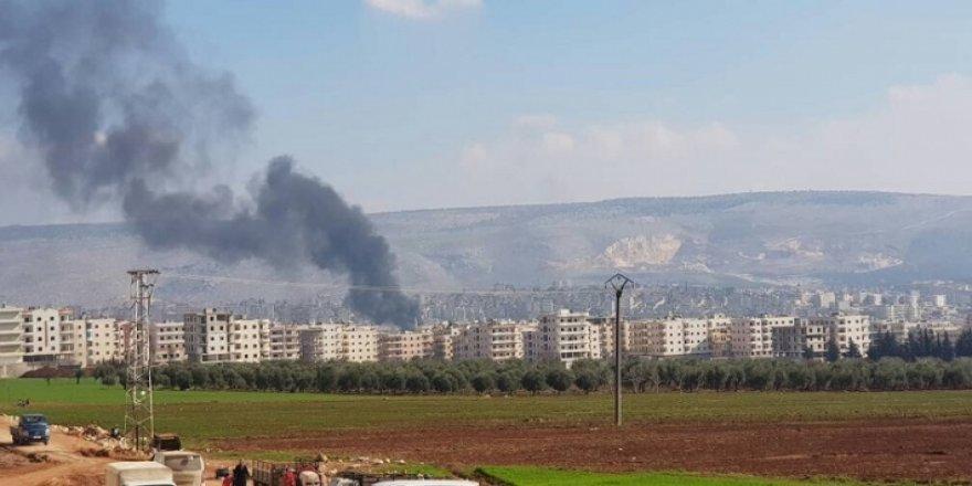 Efrin'e 4 roket isabet etti: 2 ölü