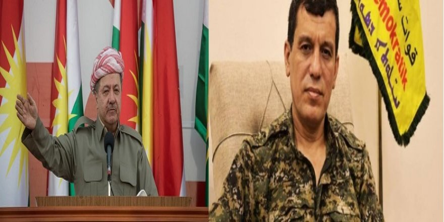 Mazlum Abdi: Başkan Mesud Barzani, Rojava Kürdistanı için önemli bir role sahip