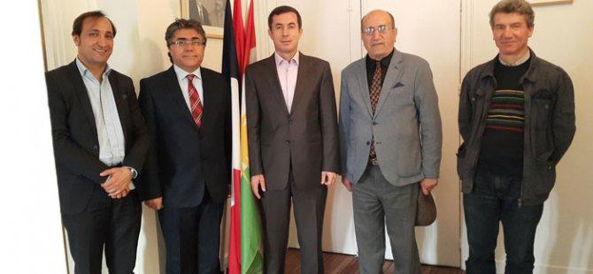 PAK Genel Başkanı Paris'te Kürt Parti ve Kurumlarını Ziyaret Etti