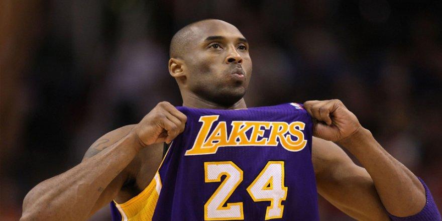 Basketbolun en büyük efsanelerinden Kobe Bryant helikopter kazasında öldü