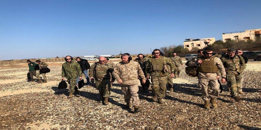 ABD'li komutan Mazlum Kobani'yle görüştü: 'Bizden SDG'ye yardım garantisi istediler'