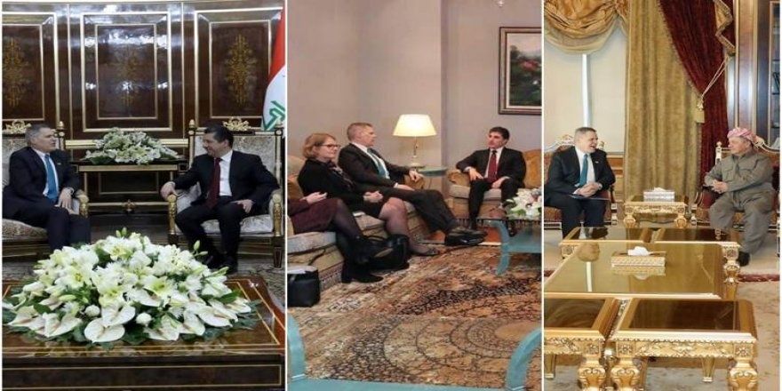 Kürdistan Bölgesi Irak'taki sorunların çözümü için yeni kabineyi destekleyecek